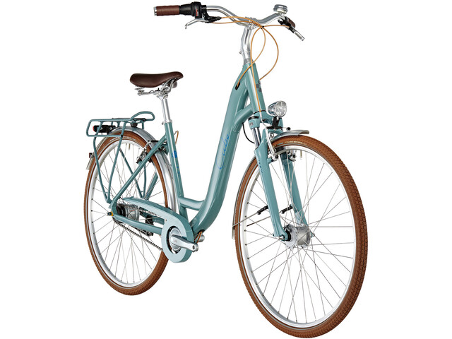 Cube Elly Cruise Citybike Easy Entry petroleumsgrøn | City-cykler